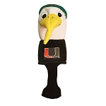 Miami Hurricanes Mascot Golf Head Cover