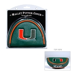 Miami Hurricanes Mallet Golf Putter Cover