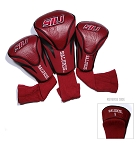 Southern Illinois Salukis Golf Contour 3 pack Head Covers