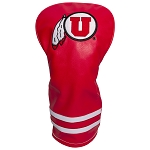 Utah Utes Vintage Golf Driver Head Cover