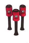 Georgia Bulldogs Set of 3 Graphite Head Covers
