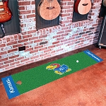 Kansas Jayhawks Putting Green Mat