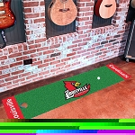 Louisville Cardinals Putting Green Mat