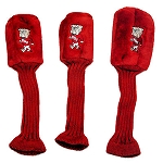 Mississippi State Bulldogs Set of 3 Graphite Head Covers
