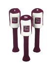 New Mexico State Aggies Set of 3 Graphite Head Covers