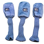 North Carolina Tar Heels Set of 3 Graphite Head Covers