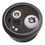 Auburn NCAA Golf Gift Set Switchblade Divot Tool with Double-Sided Magnetic Ball Marker & Golf Ball