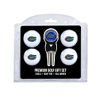 Florida Gators 4 Ball Divot Tool Golf Gift Set