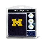 Michigan Wolverines Embroidered Golf Gift Set