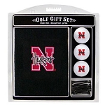 Nebraska Cornhuskers Embroidered Golf Gift Set