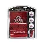 Ohio State Buckeyes Embroidered Golf Gift Set