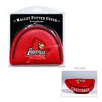 Louisville Cardinals Mallet Golf Putter Cover