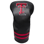 Texas Tech Red Raiders Vintage Golf Driver Head Cover