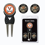 Virginia Cavaliers Golf Divot Tool Set