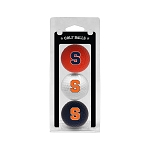 Syracuse Orange Golf Ball Clamshell
