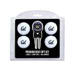 California-Berkeley Golden Bears 4 Ball Divot Tool Golf Gift Set