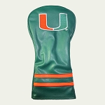 Miami Hurricanes Vintage Golf Driver Head Cover