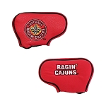 Louisiana Lafayette Ragin Caguns Blade Golf Putter Cover