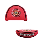 Louisiana Lafayette Ragin Cajuns Mallet Golf Putter Cover