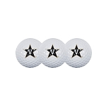 Vanderbilt Sleeve Of 3 Golf Balls