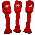Iowa State Cyclones Graphite Golf Headcover Set- 3 pieces