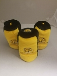 Southern Mississippi Golden Eagles Graphite Golf Headcover Set- 3 pieces