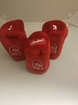 Stanford Carnals Graphite Golf Headcover Set- 3 pieces