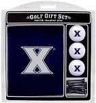 Xavier Musketeers Embroidered Golf Gift Set
