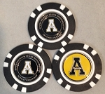 Appalachian State Mountaineers Golf 3 Pack Poker Chip