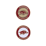 Arkansas Razorbacks Golf Ball Marker