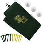 Baylor Bears Embroidered Golf Gift Set