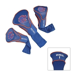 Boise State Broncos Golf Contour 3 pack Head Covers