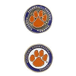 Clemson Tigers Golf Ball Marker