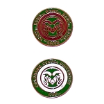 Colorado State Rams Golf Ball Marker