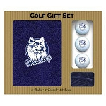 Connecticut Huskies 4 Ball Divot Tool Golf Gift Set