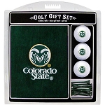 Colorado State Rams Embroidered Golf Gift Set