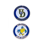 Delaware Blue Hen Golf Ball Marker