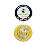 Georgia Tech Yellow Jackets Golf Ball Marker