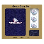 Gonzaga Bulldogs Embroidered Golf Gift Set