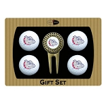 Gonzaga Bulldogs 4 Ball Divot Tool Golf Gift Set