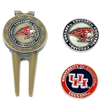 Houston Cougars Golf Divot Tool Set