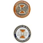 Illinois Fighting Illini Golf Ball Marker