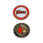 Louisville Cardinals Golf Ball Marker