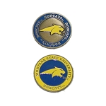 Montana State Fighting Bobcats Golf Ball Marker