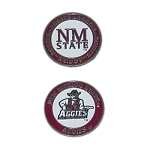 New Mexico State Aggies Golf Ball Marker