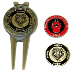New Mexico Lobos Golf Divot Tool Set