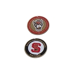 North Carolina State Wolf Pack Golf Ball Marker