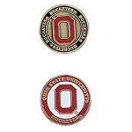 Ohio State Buckeyes Golf Ball Marker