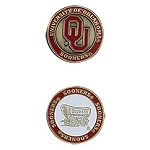 Oklahoma Sooners Golf Ball Marker