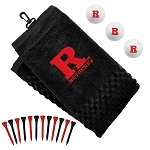 Rutgers Scarlett Knights Embroidered Golf Gift Set